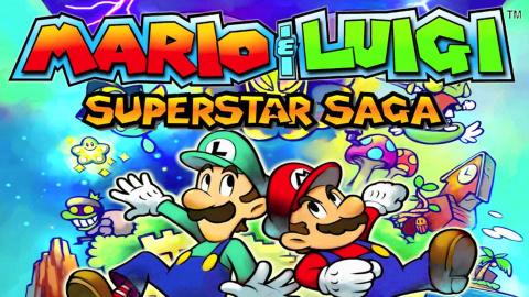 Jaquette de Mario & Luigi : Superstar Saga s'offre une version 3DS - E3 2017