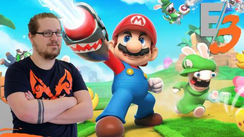 E3 : Mario + The Lapins Crétins Kingdom Battle, joli, accessible et tactique