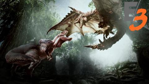 Jaquette de Monster Hunter World : La version PS4 livre sept minutes de gameplay - E3 2017