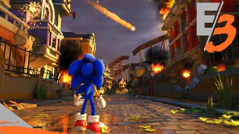 Jaquette de Sonic Forces réunit ses méchants dans un trailer - E3 2017