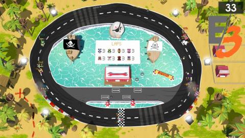 Jaquette de Brakes Are For Losers : Un jeu de course arcade à l'ancienne - E3 2017