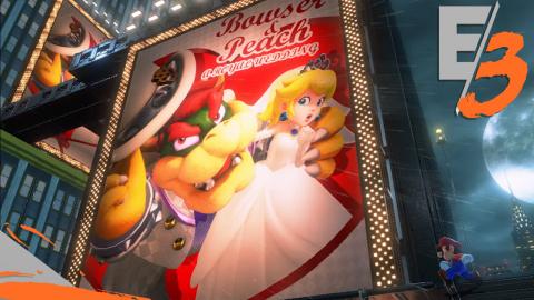 Jaquette de E3 2017 : Super Mario Odyssey - Le développeur en dévoile un peu plus sur le jeu !