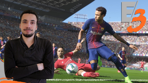 Jaquette de PES 2018 : Le jeu de foot de l'année ? - E3 2017