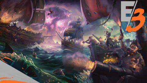Jaquette de E3 2017 : Images 4K et artworks pour Sea of Thieves