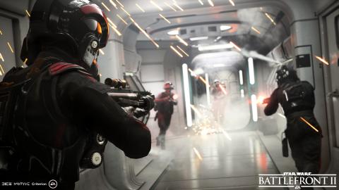 Les batailles spatiales de Star Wars Battlefront 2 dévoilées avant l'heure