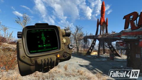 Fallout 4 VR nous présente ses possibilités - E3 2017