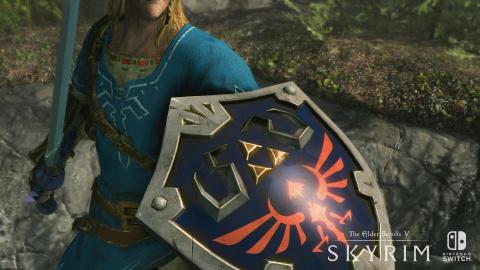 Skyrim nous montre ses premières images sur Nintendo Switch - E3 2017
