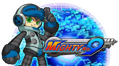 Jaquette de Mighty No.9 prévu pour 2017 sur Vita et 3DS