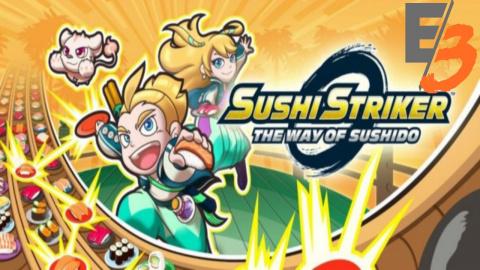 Jaquette de Sushi Striker : The Way of Sushido annoncé sur 3DS - E3 2017