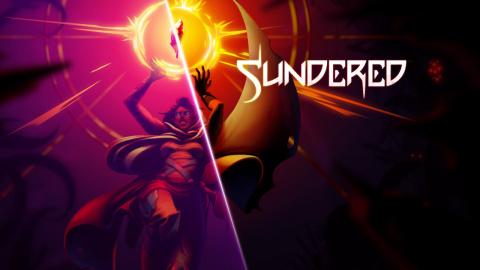 Jaquette de Sundered montre Nyarlathotep, son terrifiant boss final