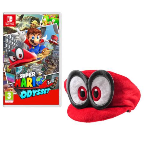 Super Mario Odyssey se prend une casquette
