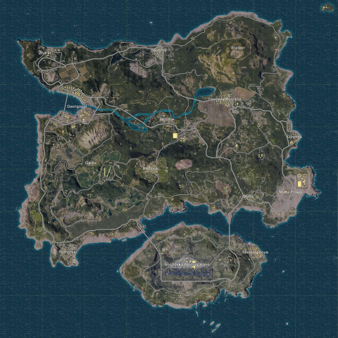 Last Man Standing vs Playerunknown's Battlegrounds : qui a la plus grande map ?