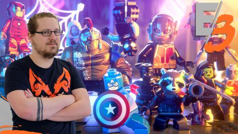 Jaquette de LEGO Marvel Super Heroes 2 : Le changement, c'est pas maintenant - E3 2017