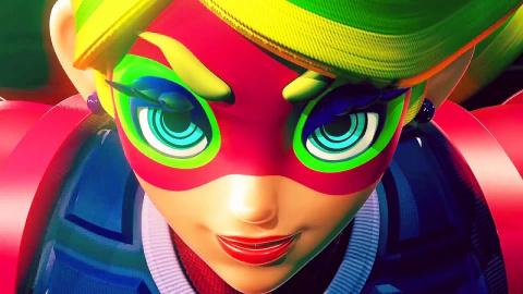 Jaquette de Arms : La boxe déjantée sauce Nintendo ! sur Switch