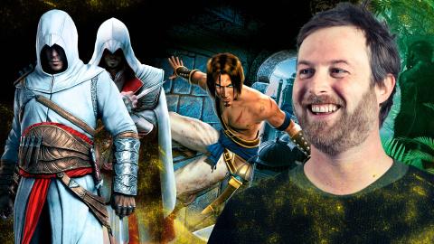 Jaquette de Patrice Désilets (Assassin's Creed, Prince of Persia) à la Masterclass Jeux Video