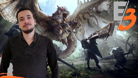 Monster Hunter World : Un monde plus ouvert et plus vivant ! - E3 2017