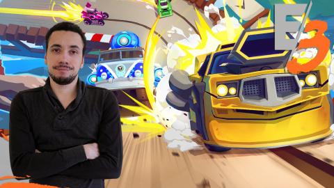 Jaquette de Tiny Trax : Un vrai jeu d'enfant en VR - E3 2017