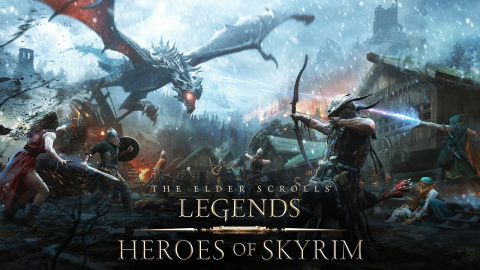 The Elder Scrolls Legends : Heroes of Skyrim sur iOS