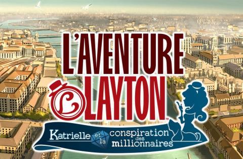 L'aventure Layton Katrielle Conspiration Millionnaires disponible mobiles tablettes juillet