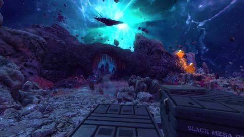 Black Mesa dévoile enfin les niveaux sur Xen