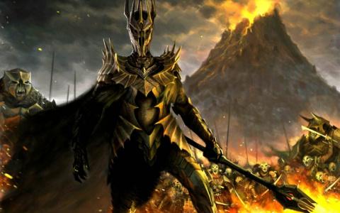 Jaquette de La bande originale du Seigneur des Anneaux Online publiée pour les 10 ans du jeu