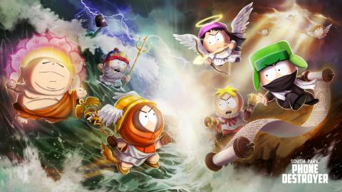 Jaquette de South Park : Phone Destroyer débarque en Europe du Nord