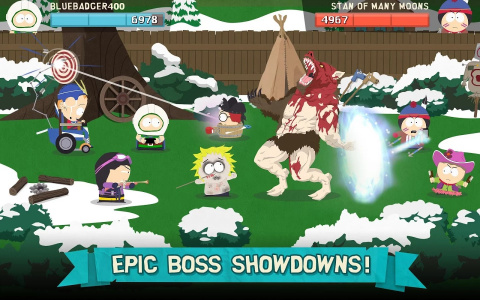 Meilleur jeu portable et mobile : South Park - Phone Destroyer