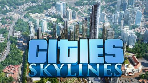 Jaquette de Cities Skylines annoncé sur PS4