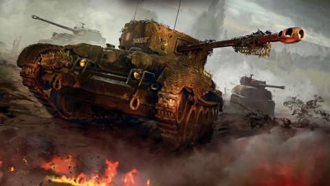 Jaquette de World of Tanks se montre en 4K sur Xbox One X