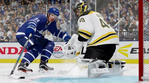 Jaquette de NHL 18 brise la glace en trailer