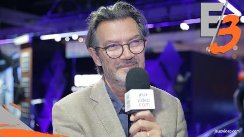 """Jaquette de Sony face à la One X : """"Nous ne sommes pas du tout en difficulté technologique"""" - Interview de Philippe Cardon : E3 2017"""