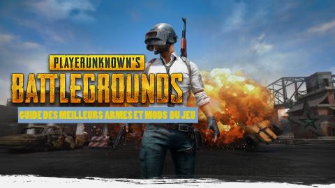 Jaquette de Playerunknown's Battlegrounds, meilleures armes et accessoires : notre guide