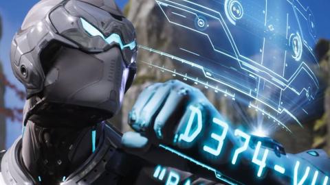 Jaquette de Paragon : Le personnage de Spectre visible en trailer