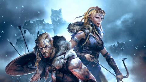 """Jaquette de Vikings : Wolves of Midgard se dote d'un mode coop' """"canapé"""""""