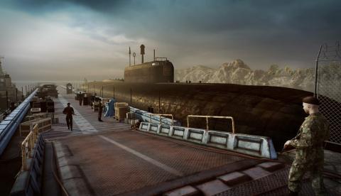 Kursk : Des images de la surface