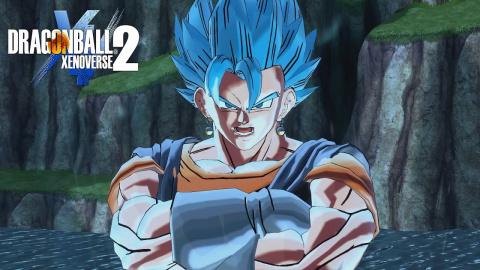 Jaquette de Dragon Ball Xenoverse 2 : Vegeto Blue défie Zamasu fusionné