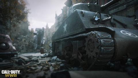 Jaquette de Call of Duty : WWII - Le mode Guerre présente ses objectifs