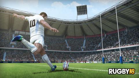 Rugby 18 : Un premier trailer dans la mêlée