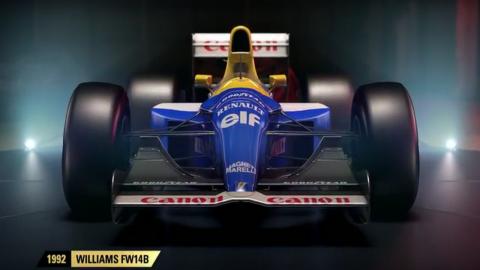 Jaquette de F1 2017 : Deux véhicules emblématiques Williams entrent en piste