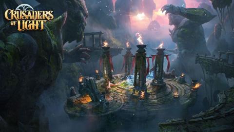 Jaquette de Crusaders of Light : Des raids jusqu'à 40 joueurs sur smartphones dès juillet