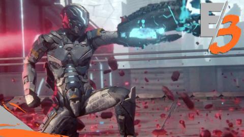 Jaquette de E3 2017: Matterfall, shoot et musique techno pour un résultat frénétique sur PS4