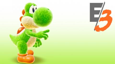 E3 : Yoshi, un jeu en carton tout mignon sur Switch