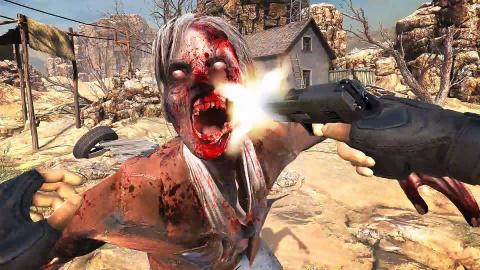Jaquette de Arizona Sunshine : Les zombies se la jouent VR