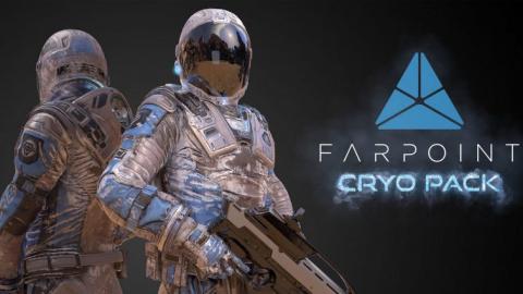 Jaquette de Farpoint présente son DLC Cryo Pack