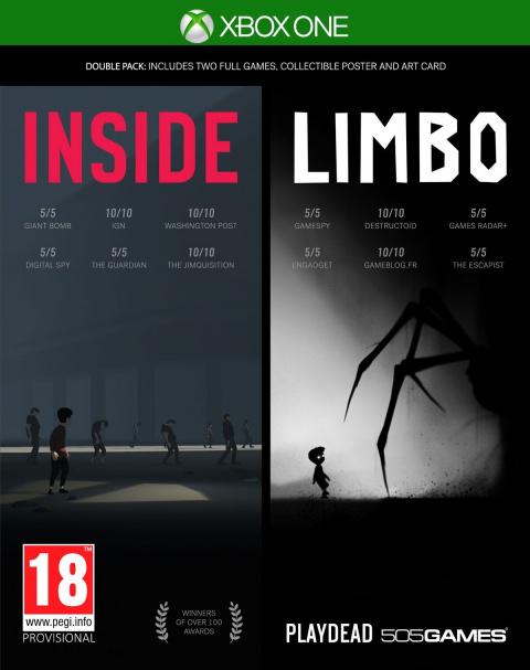 Limbo/Inside : Un double pack physique pour le mois de septembre