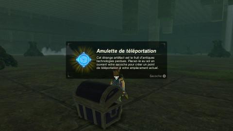 Amulette de téléportation