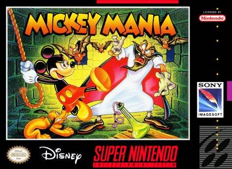 Mickey Mania : The Timeless Adventures of Mickey Mouse sur SNES