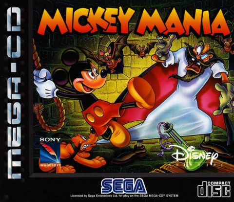 Mickey Mania : The Timeless Adventures of Mickey Mouse sur Mega-CD