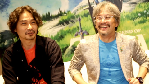 """Jaquette de Eiji Aonuma (Breath of the Wild) : """"Les Zelda à l'ancienne, c'est du passé !"""""""