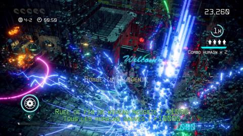 Nex Machina : La quintessence du twin stick shooter d'arcade
